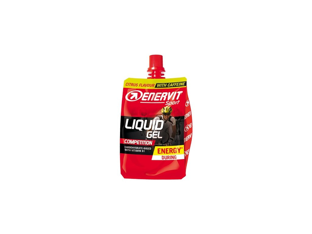 enervit liquid gel competition s kofeinem citrus 60 ml o