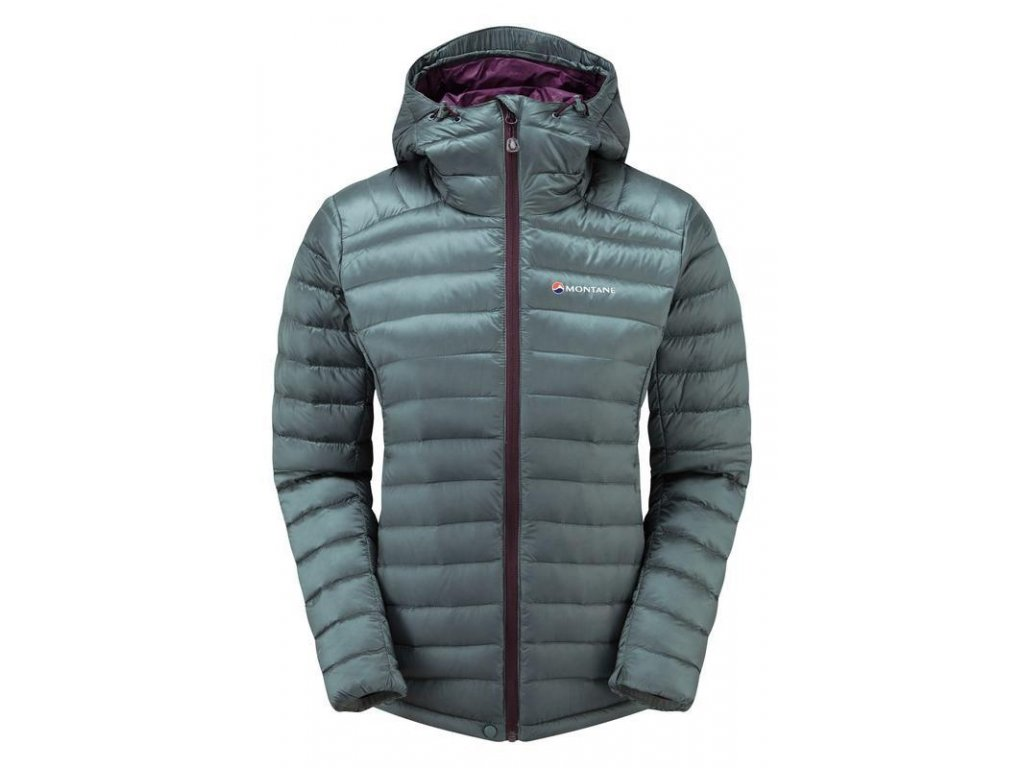 Montane Fem Featherlite Down Jacket Stratus Grey