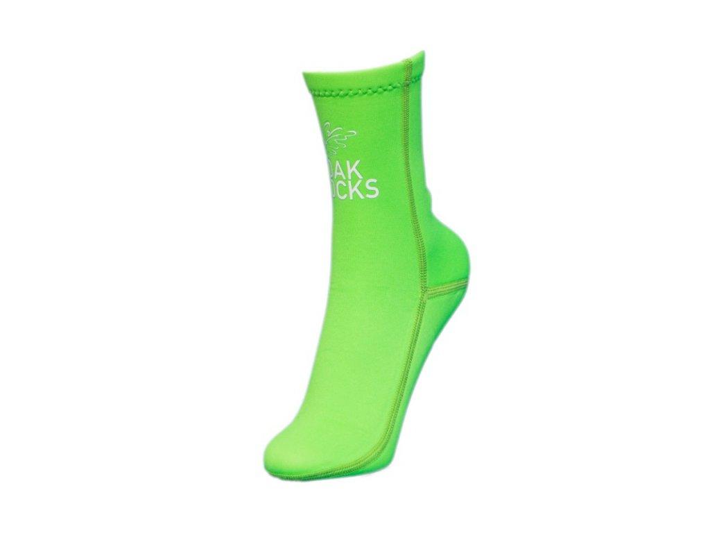 Oak Socks Green