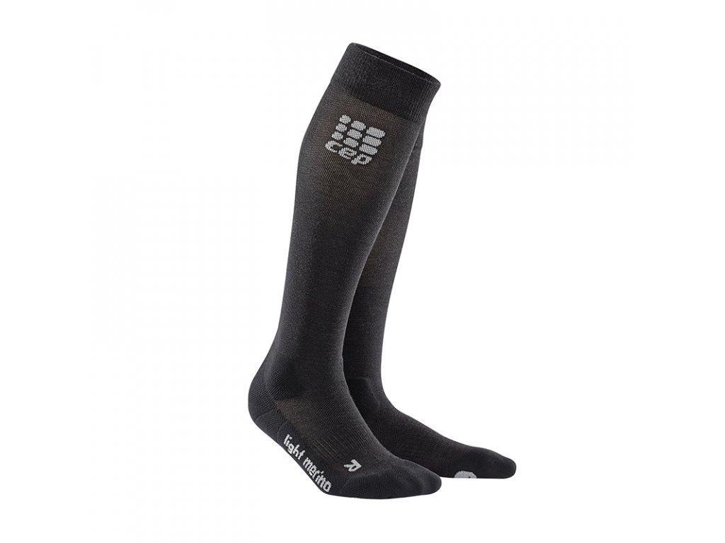 outdoor light merino socks lavastone WP50AF pair