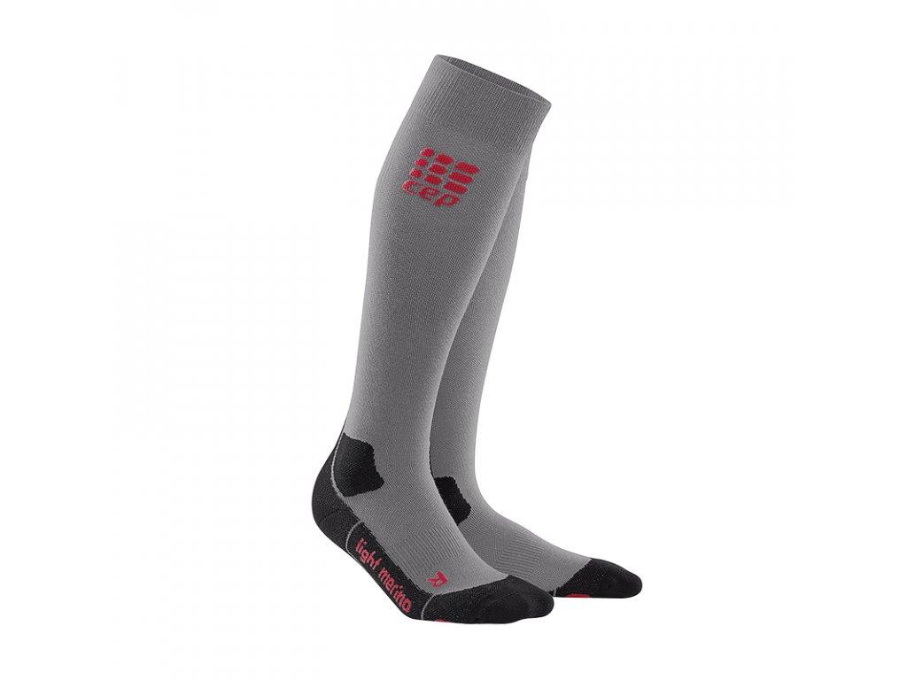 outdoor light merino socks volcanicdust WP80BF pair