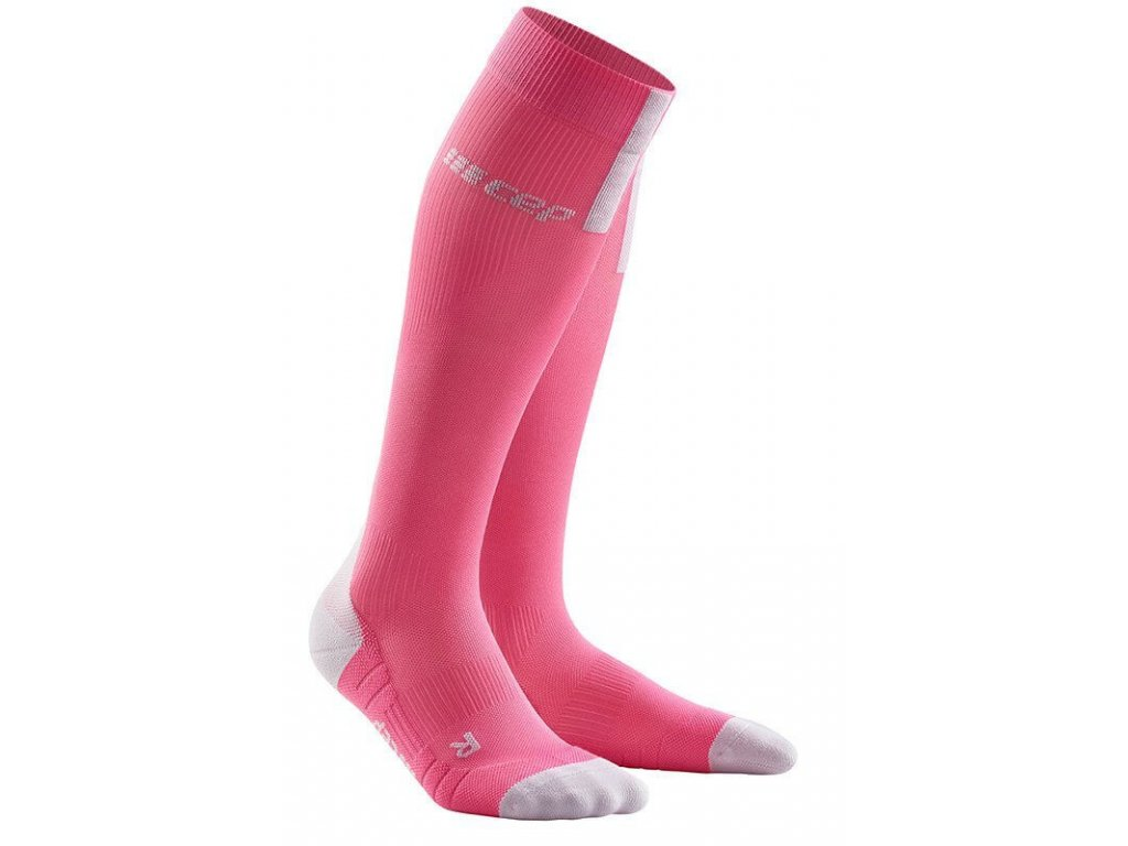 1280x1280 Run Compression Socks 3.0 rose light grey WP40GX w pair front