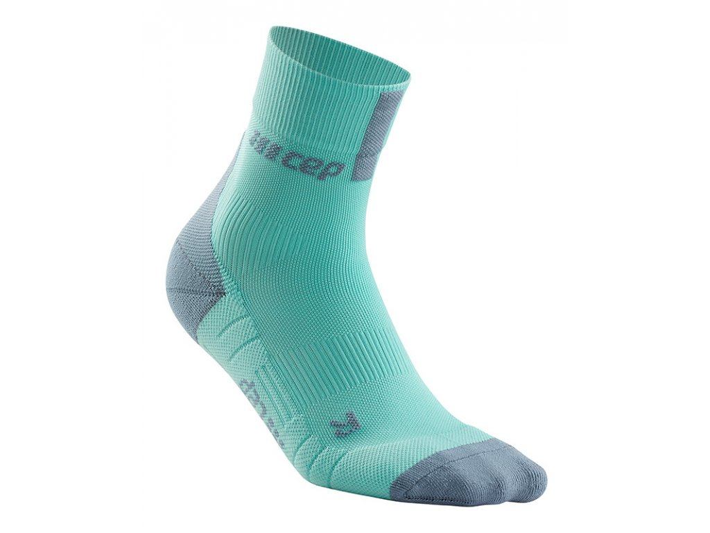 Compression Short Socks 3.0 ice grey WP5BFX m WP4BFX w single front