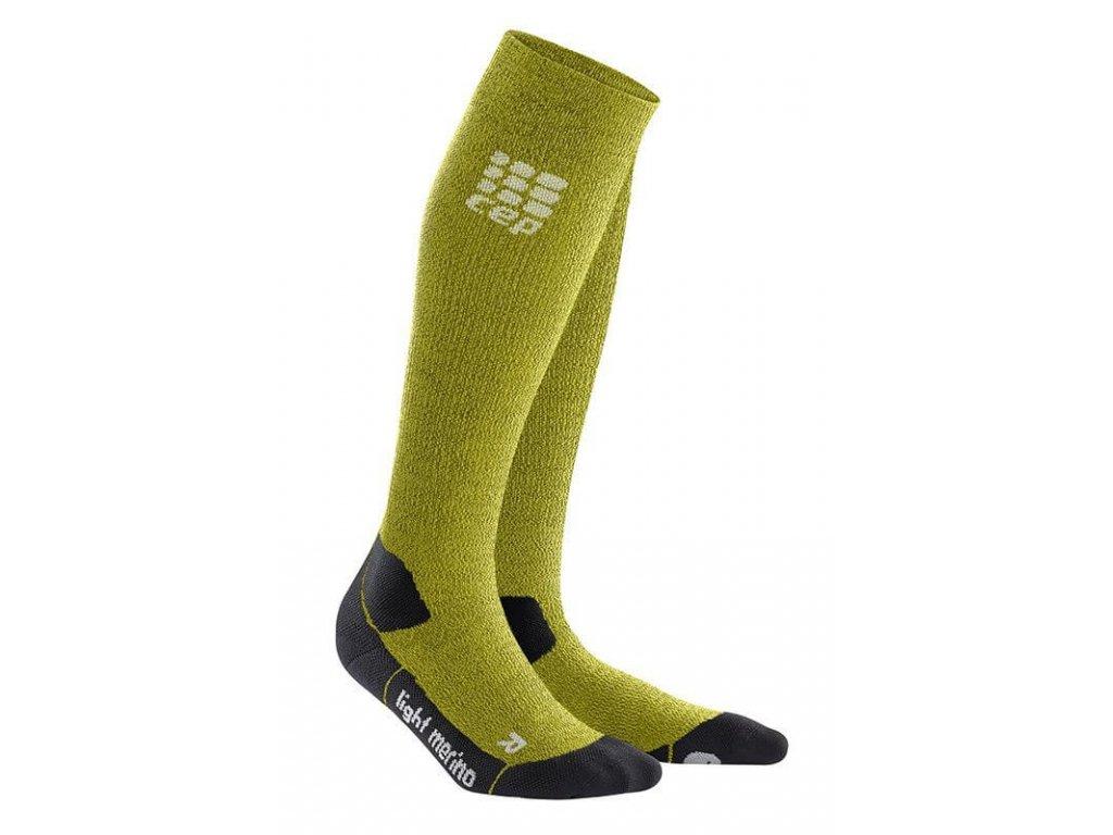 1280x1280 CEP Outdoor Light Merino Socks fresh grass WP40FF w WP50FF m pair