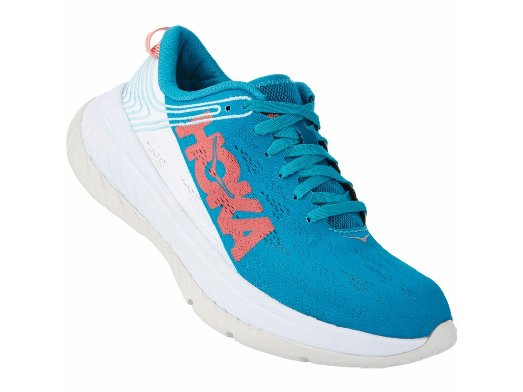 Hoka One One Women s Carbon X Running Shoe Running Shoes CARIBBEAN SEA WHIT SS20 3
