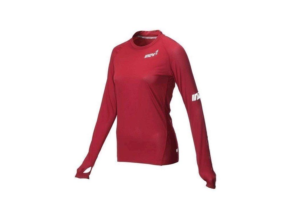 Inov-8 AT/C BASE LS tričko dámské červené