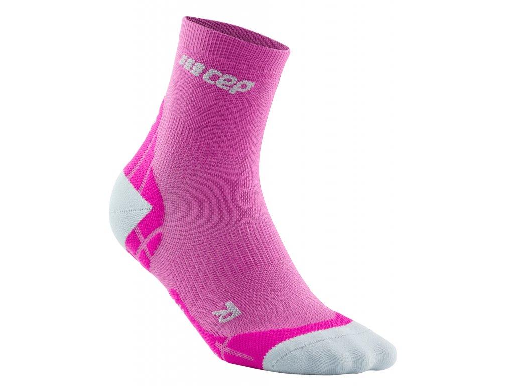 short krátké ultralight růžové