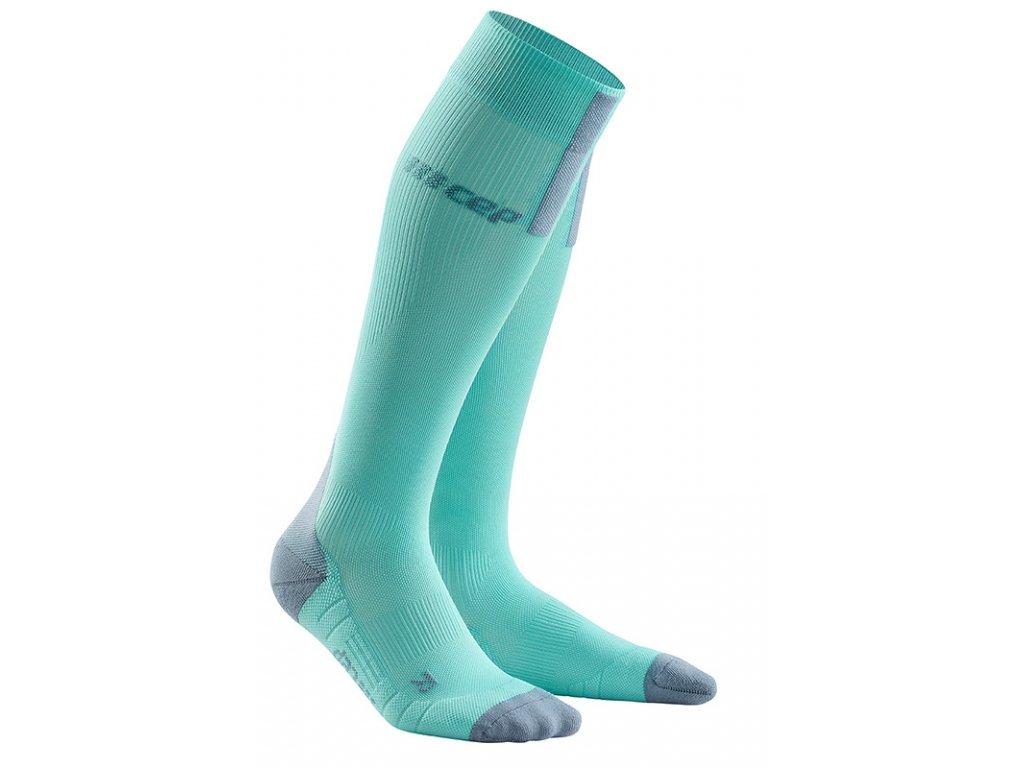 run socks 3 0 podkolenky ice grey2