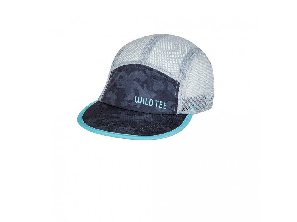 endurance hat camo gray front