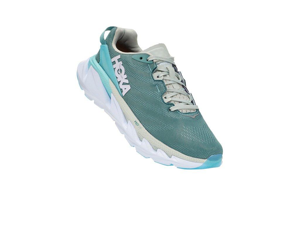 hoka one one elevon 2 women running shoe oil blue white 06 848841