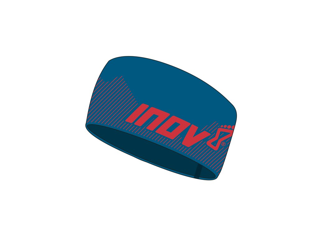 inov 8 race elite headband bluered