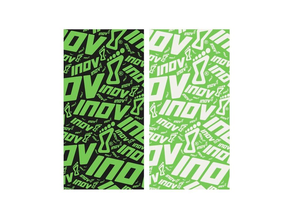 INOV-8 WRAG 30 black green + green white univerzální nákrčník
