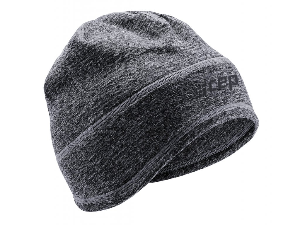 Winter Run Beanie black melange W0MB6R0 front
