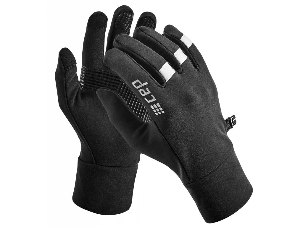 Winter Run Gloves black W0M25R