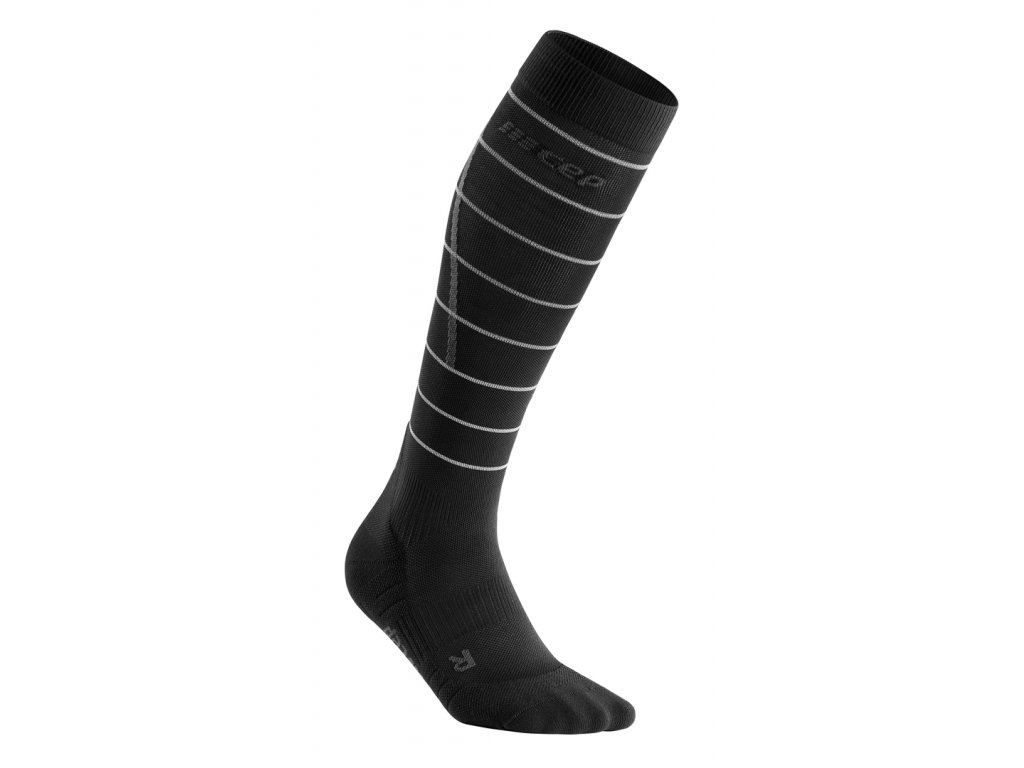 Reflective Socks black WP405Z WP505Z front 1