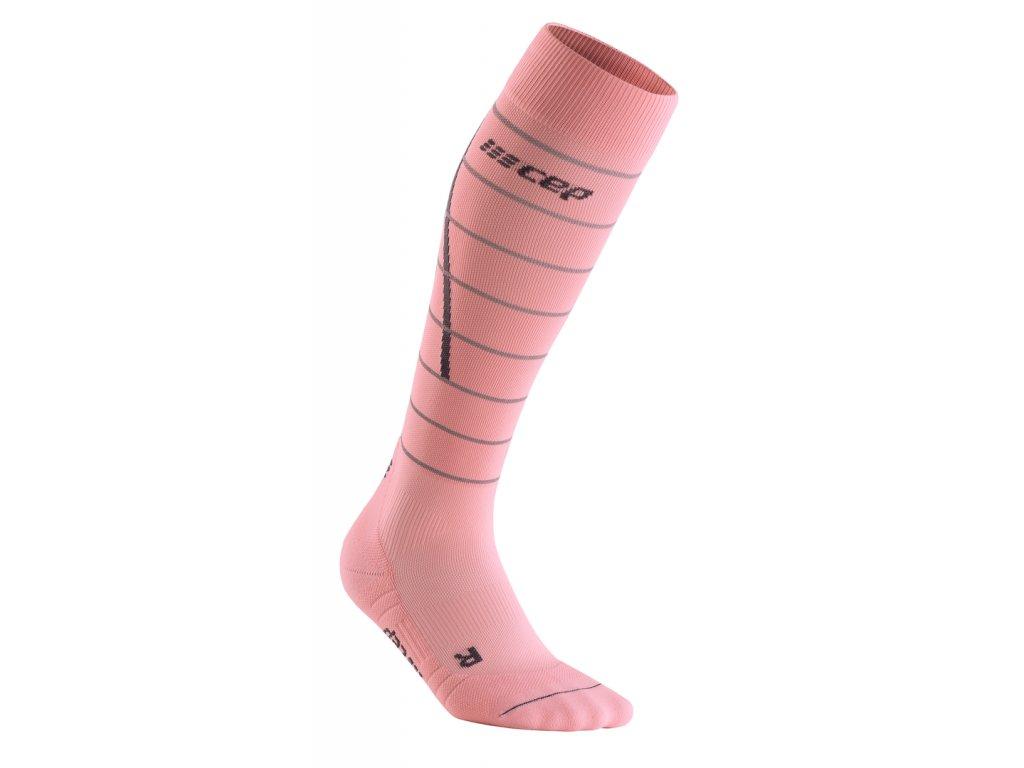 Reflective Socks lightrose WP401Z front 1
