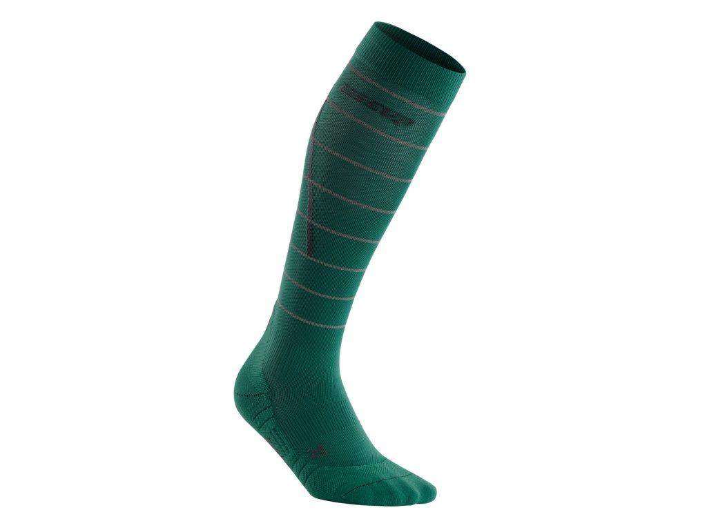 Reflective Socks green WP40GZ WP50GZ front 1