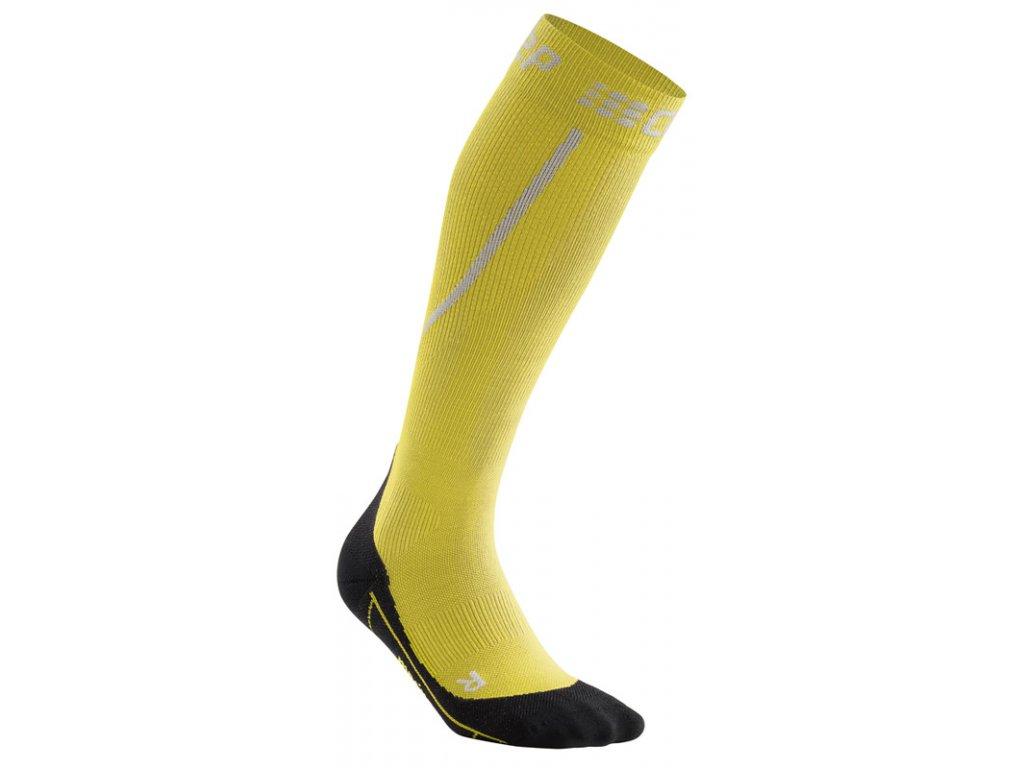 Winter Run Socks yellow black WP50GU m WP40GU w single