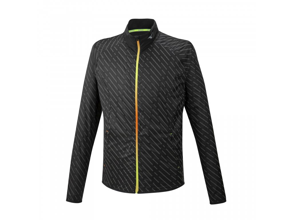 Mizuno Reflect Wind Jacket Black bunda pánská