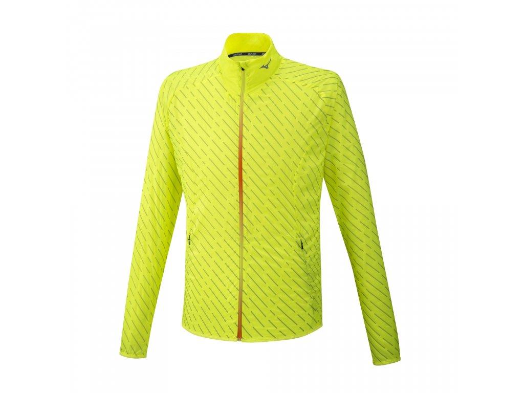 Mizuno Reflect Wind Jacket Yellow bunda pánská