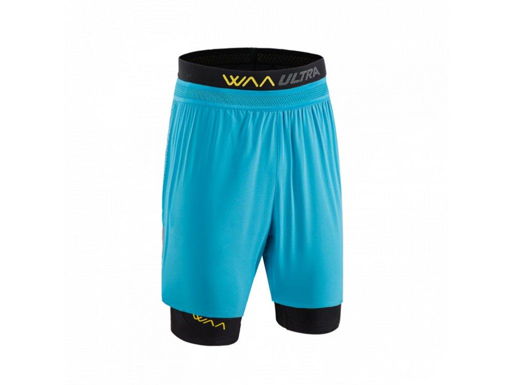WAA ULTRA Short 3in1 Hawaiian Blue pánské z Best4Run Přerov