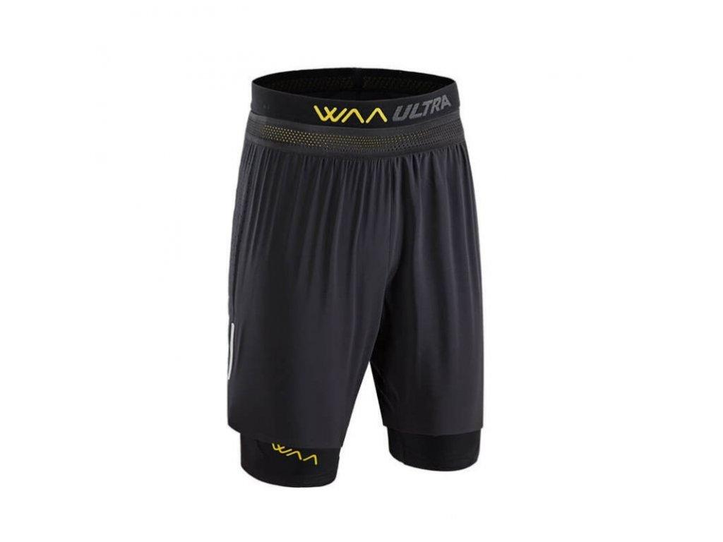 WAA ULTRA Short 3in1 Black pánské z Best4Run Přerov (1)