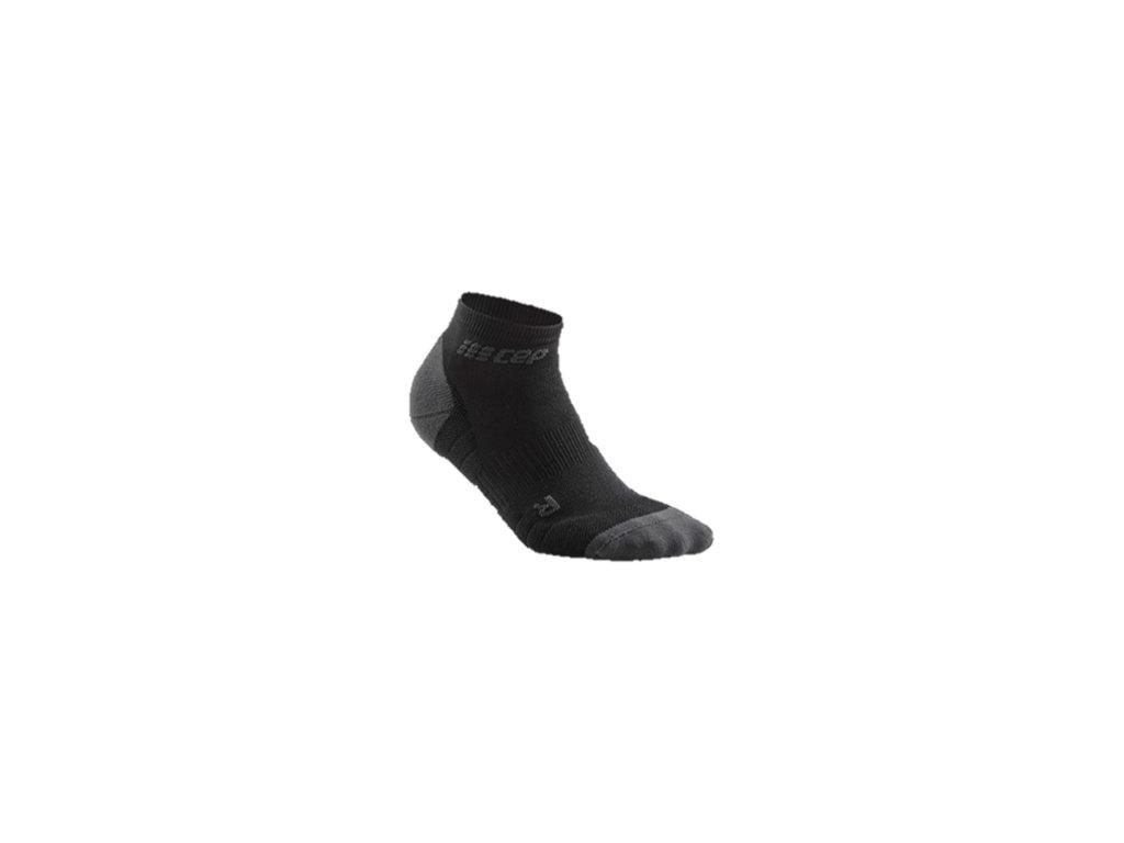CEP Kotníkové ponožky 3.0 černá tmavě šedá dámské z Best4Run Přerov