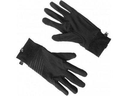 Asics Basic Gloves rukavice pánské černé (Velikost M)