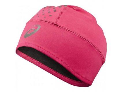 Asics Winter Beanie Čepice zimní Uni růžová (Velikost 58)