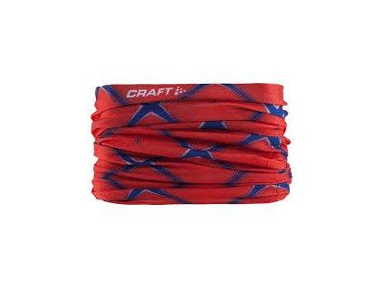 Craft Neck Tube nákrčník červený (Velikost UNI)