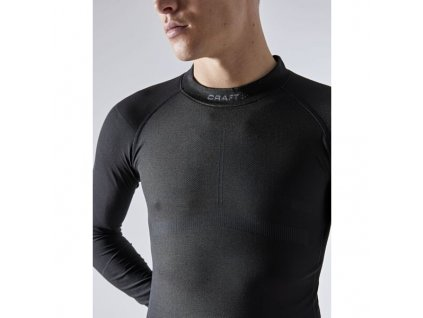 triko craft active intensity ls seda se zlutou 5
