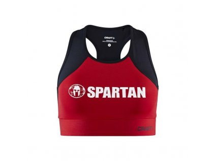 Craft Spartan Cropped W Top red (Velikost S)