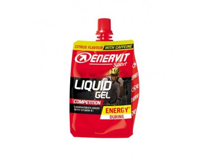 enervit liquid gel competition s kofeinem citrus 60 ml o