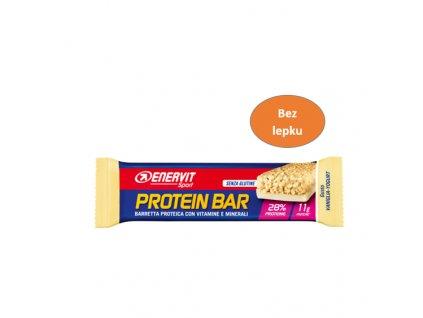 ENERVIT Protein Bar 26 vanilka bez lepku