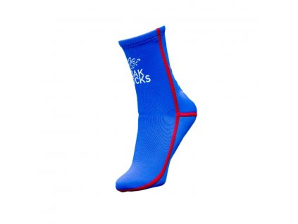 Oak Socks Blue Red