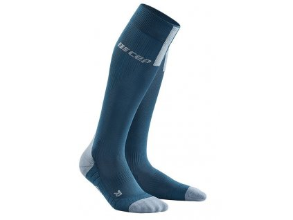 1280x1280 Run Compression Socks 3.0 blue grey WP50DX m WP40DX w pair front