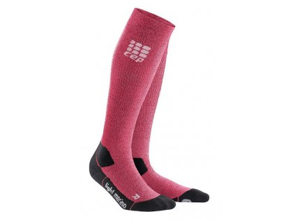 1280x1280 CEP Outdoor Light Merino Socks wild berry WP40GF w pair