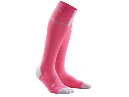 1280x1280 Run Compression Socks 3.0 rose light grey WP40GX w pair front