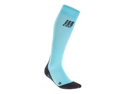 CEP Fitness Socks dámské kompresní podkolenky pastelově modré (Velikost IV)