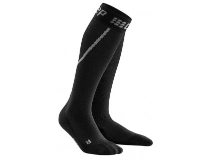 1280x1280 Winter Run Socks grey black WP50TU m WP40TU w pair