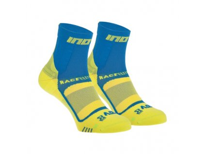 Inov-8 ponožky Race Elite Pro Sock 2pack Blue/Yellow