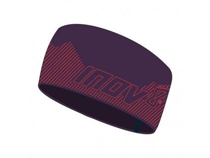 Inov-8 Race Elite Headband čelenka fialovo-růžová
