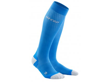 run socks ultralight electric blue podkolenky2