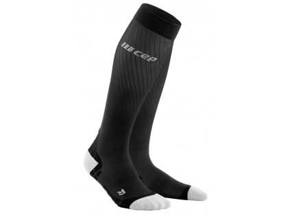 Run Ultralight Compression Socks black lightgrey WP40IY WP50IY front 2