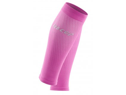 Ultralight Compression Calf Sleeves electricpink lightgrey WS40LY front 2