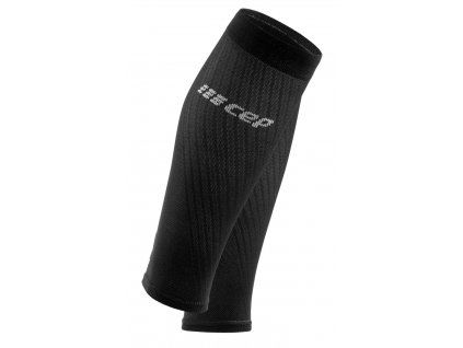 Ultralight Compression Calf Sleeves black lightgrey WS40IY WS50IY front 2