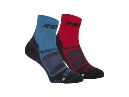 Inov 8 ponožky Race Elite Pro Sock 2pack Blue/Black Red/Black z Best4Run Přerov
