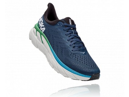 Hoka One One Clifton 7 Moonlit Ocean Anthracite pánské (1)