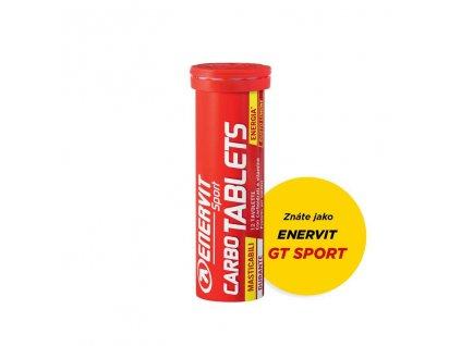 Enervit Carbo Tablets energeticke tablety pro sportovce tuba