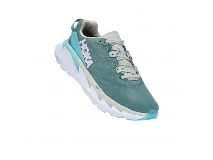 hoka one one elevon 2 women running shoe oil blue white 06 848841